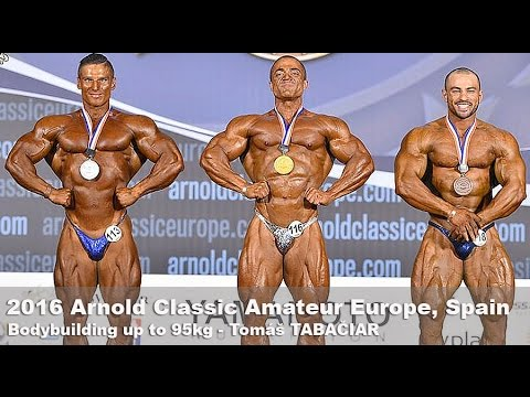 2016 Arnold Classic Europe Tomas TABACIAR