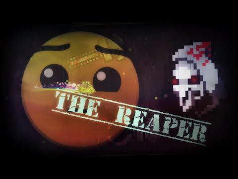 Geometry Dash: The Reaper by Saabs 100%  + Panasonic progress ( ͡° ͜ʖ ͡°)