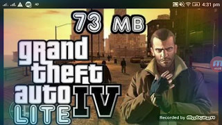 Gta 4 download for Android in just 73 mb(APK+Data)