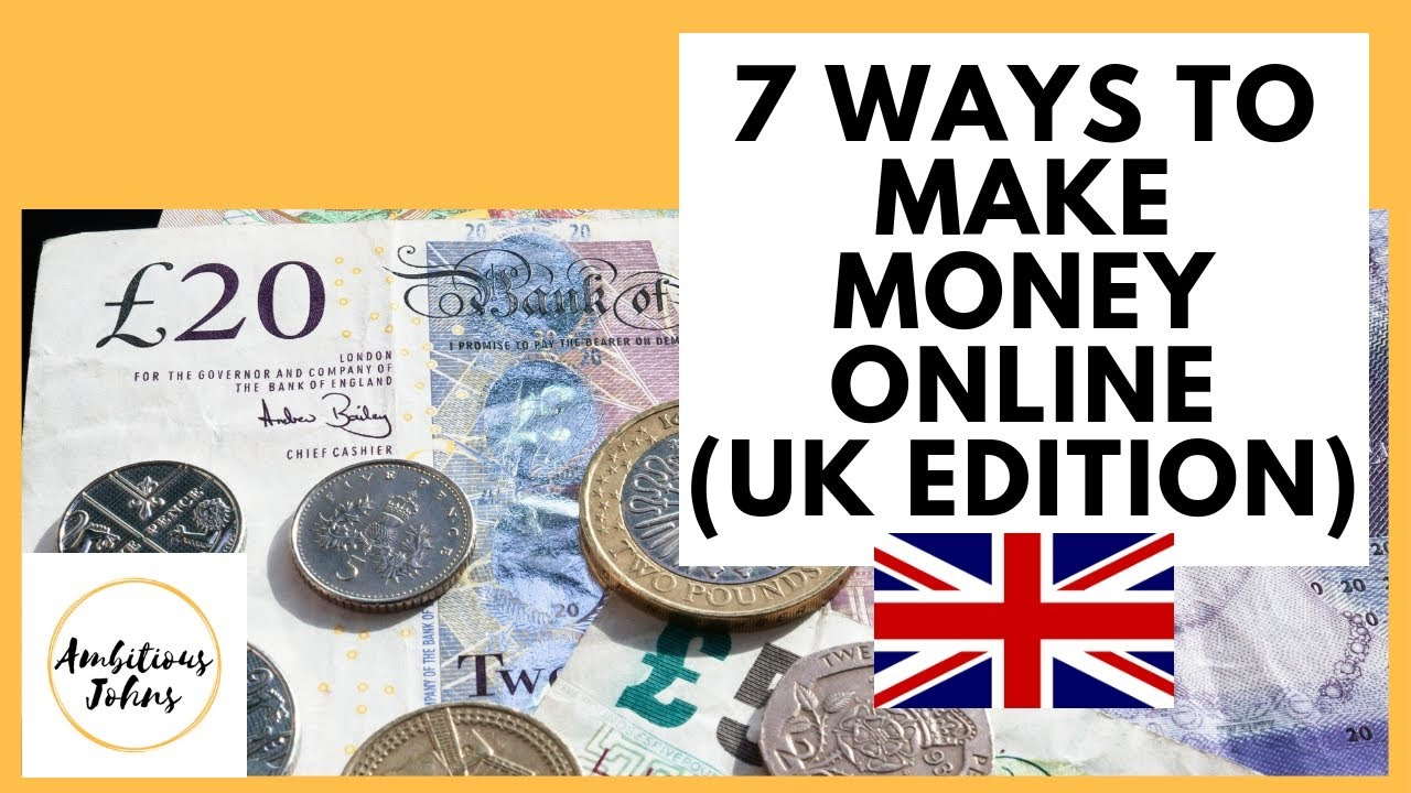 How To Make Money Online UK Edition (2020) - YouTube