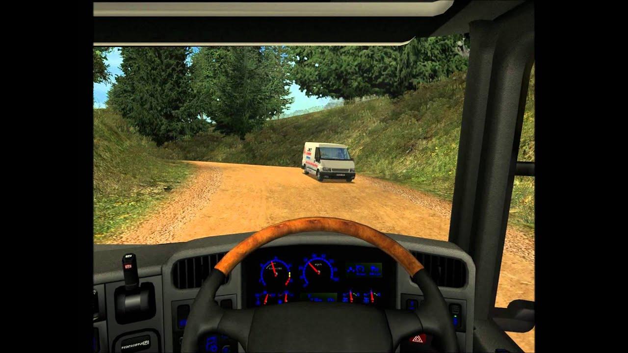 uk truck simulator new map run indonesia youtube