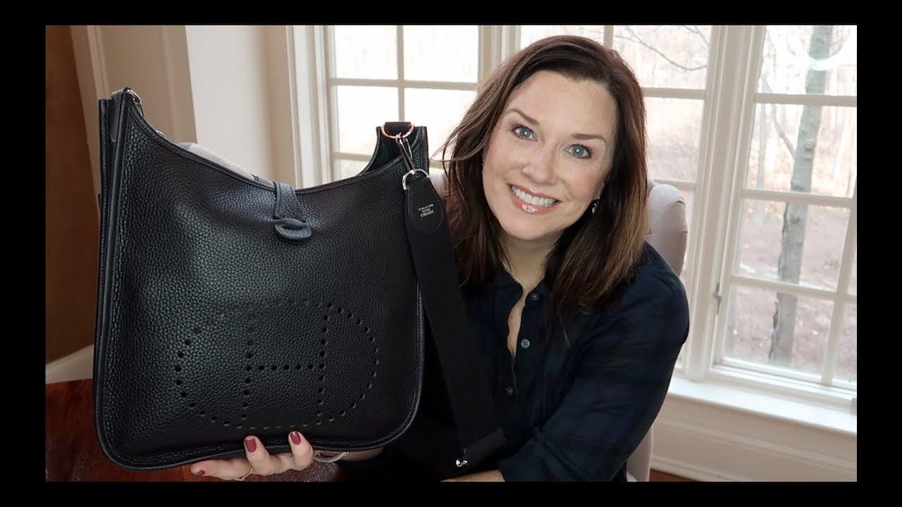 d6b73dfa8647 Hermes Evelyne- What s In My Bag - YouTube