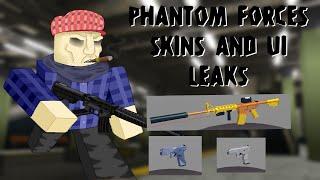[ROBLOX] Phantom Forces - SKIN AND UI LEAKS?