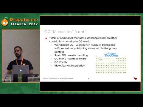 DCATL 2017 - Taxonomy as Organic Groups on YouTube
