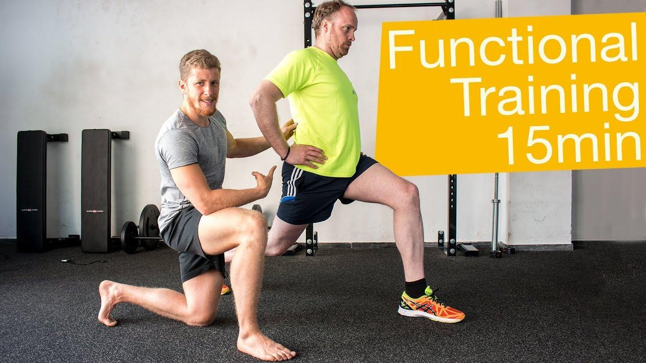 Functional Training Workout Deutsch 💪🏼 20 Minuten Übungen für zu Hause