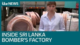 See inside the factory owned by a Sri Lankan suicide bomber   ITV News