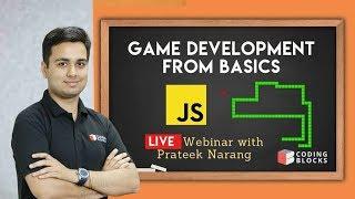 JavaScript Game Development LIVE  | Snakes Game