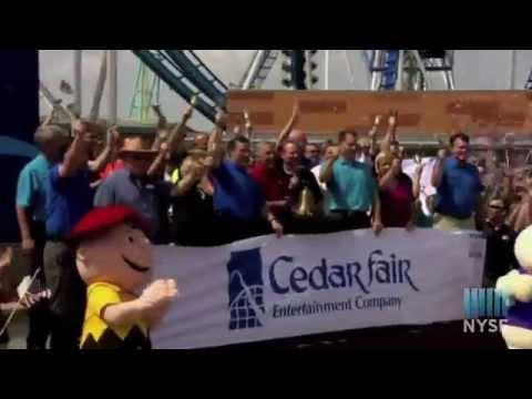 Cedar Fair / Cedar Point Celebrates Summer with NYSE Closing Bell