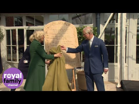 Prince Charles and Camilla celebrate wedding anniversary during Hillsborough Castle visit
