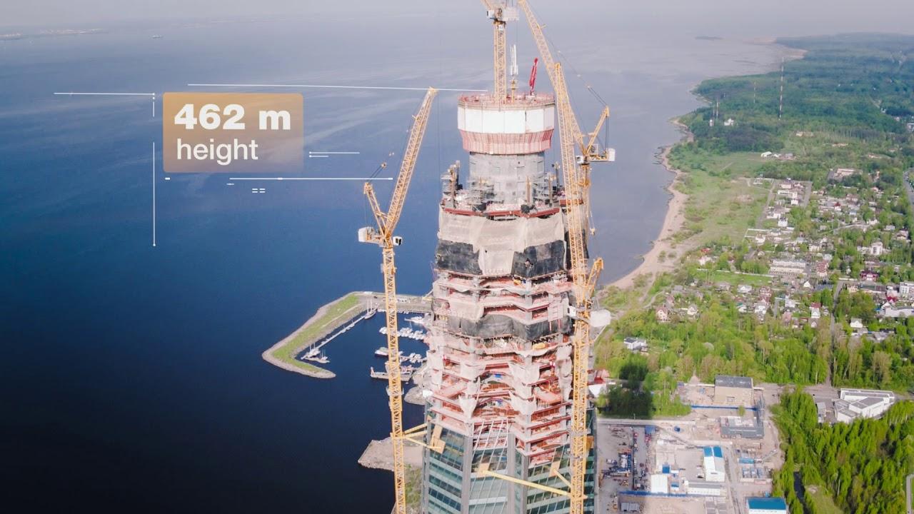 liebherr tower cranes build
