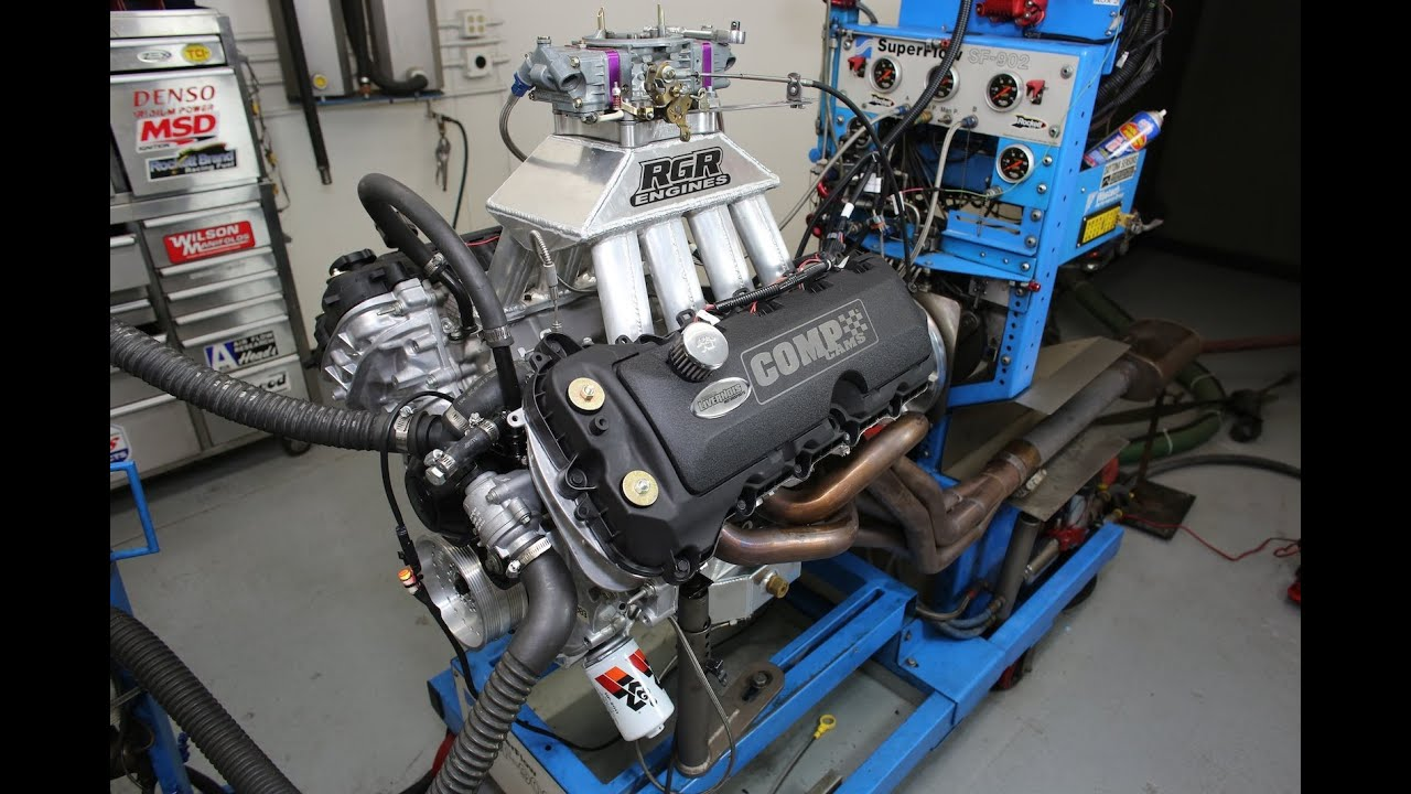 Carbureted Cobra Jet Coyote Engine Build: Long Block and Dyno Testing  YouTube