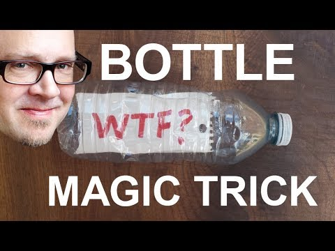 Do Insane Magic Trick with ANY Water Bottle! (Learn The Secret!)