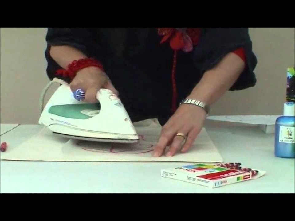 Fabric Crayons - YouTube