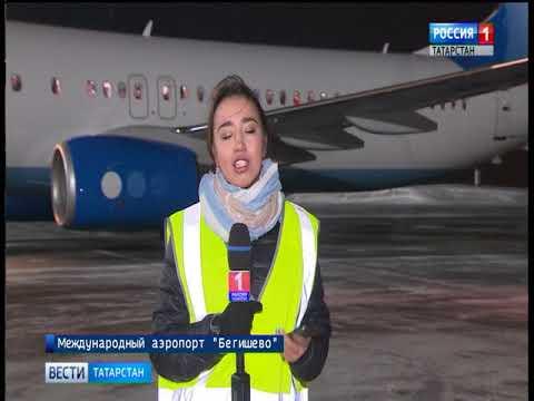 """В аэропорту """"Бегишево"""" поставили рекорд по скорости обслуживания самолета"""