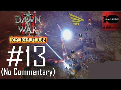 WH40K DoW2: Retribution: Imperial Guard Campaign Playthrough Part 13 (Mount Siccaris, No Commentary) |