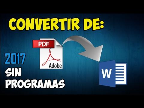 convertir-de-pdf-a-word.-|-sin-programas-|-2017---gratis