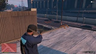 when you play GTA V Online for the first time and get timed out