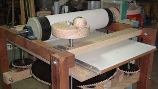 This is the second part video of the Drum Sander with lifting table. The machine is good and works very smoothly. Thanks for