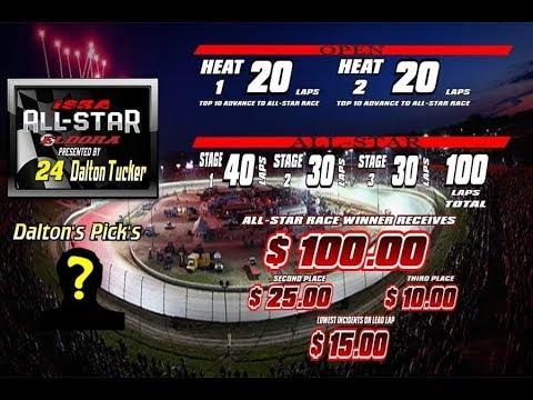 2019 iSRA All-Star Race at Eldora Speedway Presented By the # 24 Dalton Tucker : ONLY on Maxspeed TV