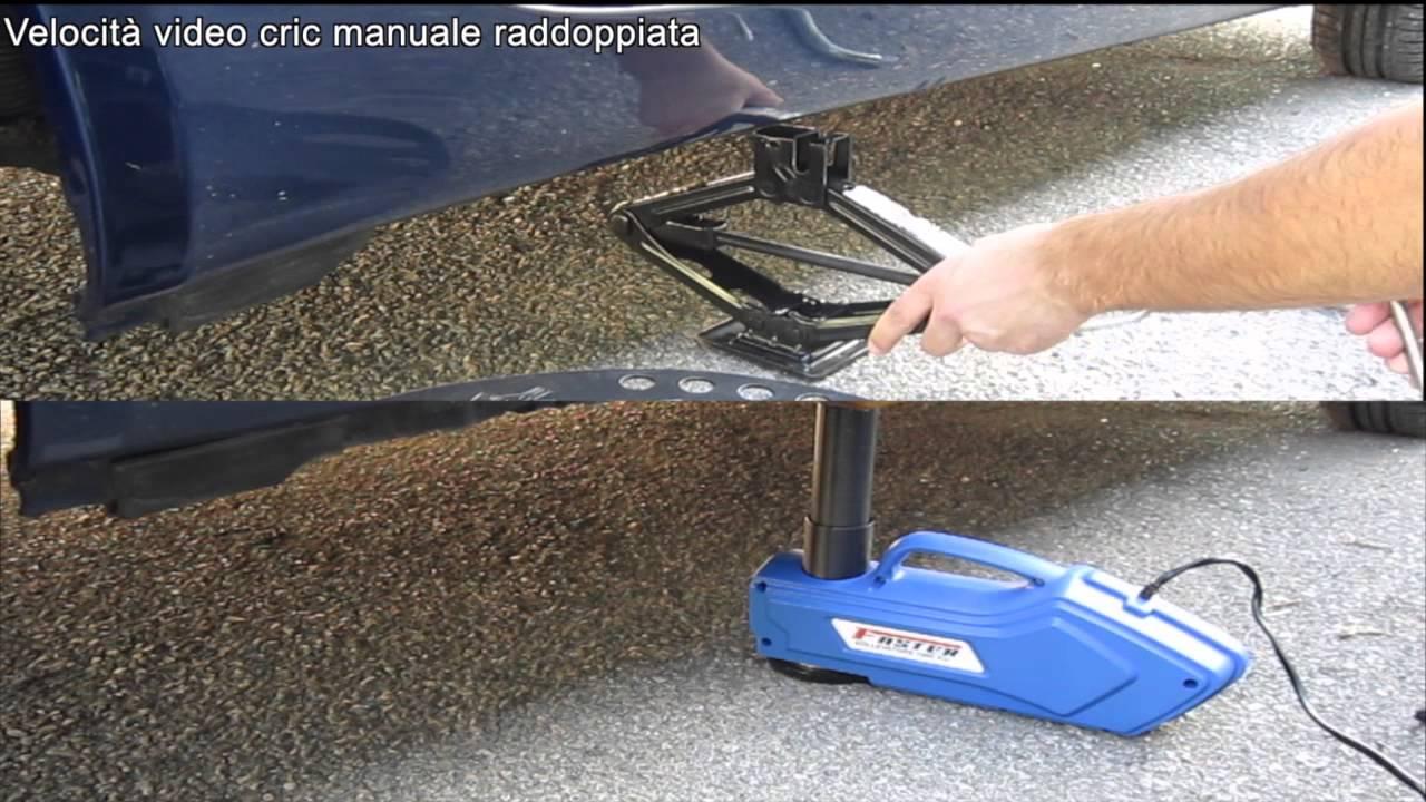 Test cric auto elettroidraulico faster 150 youtube - Sollevatore letto ...