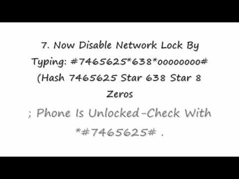How To Unlock A SamSung Phone For FREE YouTube