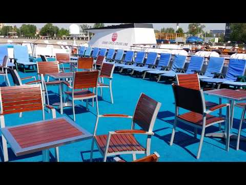 Sun Deck - MS Andrey Rublev Russia Cruise Ship