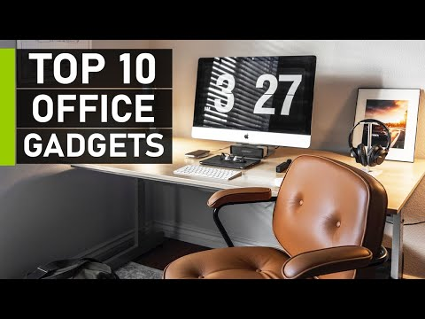 Top 10 Coolest Office Gadgets & Accessories | Office Gadgets 2021