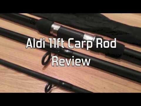 Aldi Fishing Rod Review - Carp Rod Crane Fishing