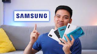 Samsung Galaxy A Series Evolution 2014-2020.