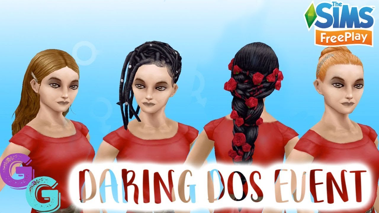 Sims Freeplay Daring Dos Fashion Design Event Early Access Youtube
