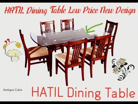 Hatil Furniture Dining Table Low Price Space Saving Youtube