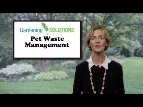 Gardening Solutions - Pet Waste Management