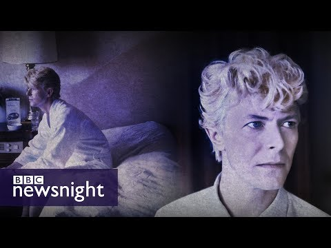 David Bowie remembered by his photographer - BBC Newsnight