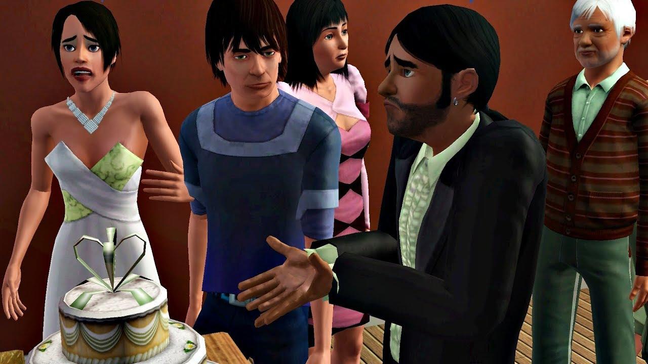 Frustrujący ślub Sims 3 Wydziedzicz Budynia 9 Youtube