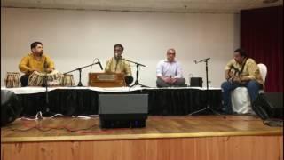 """Nastes Ghari Tu Jevha"" medley with Dr. Saleel Kulkarni!"