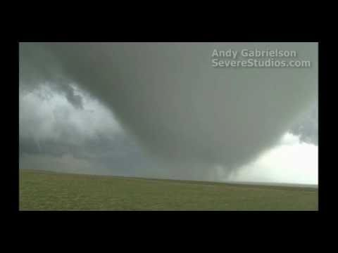 Massive tornado near Faith, South Dakota!