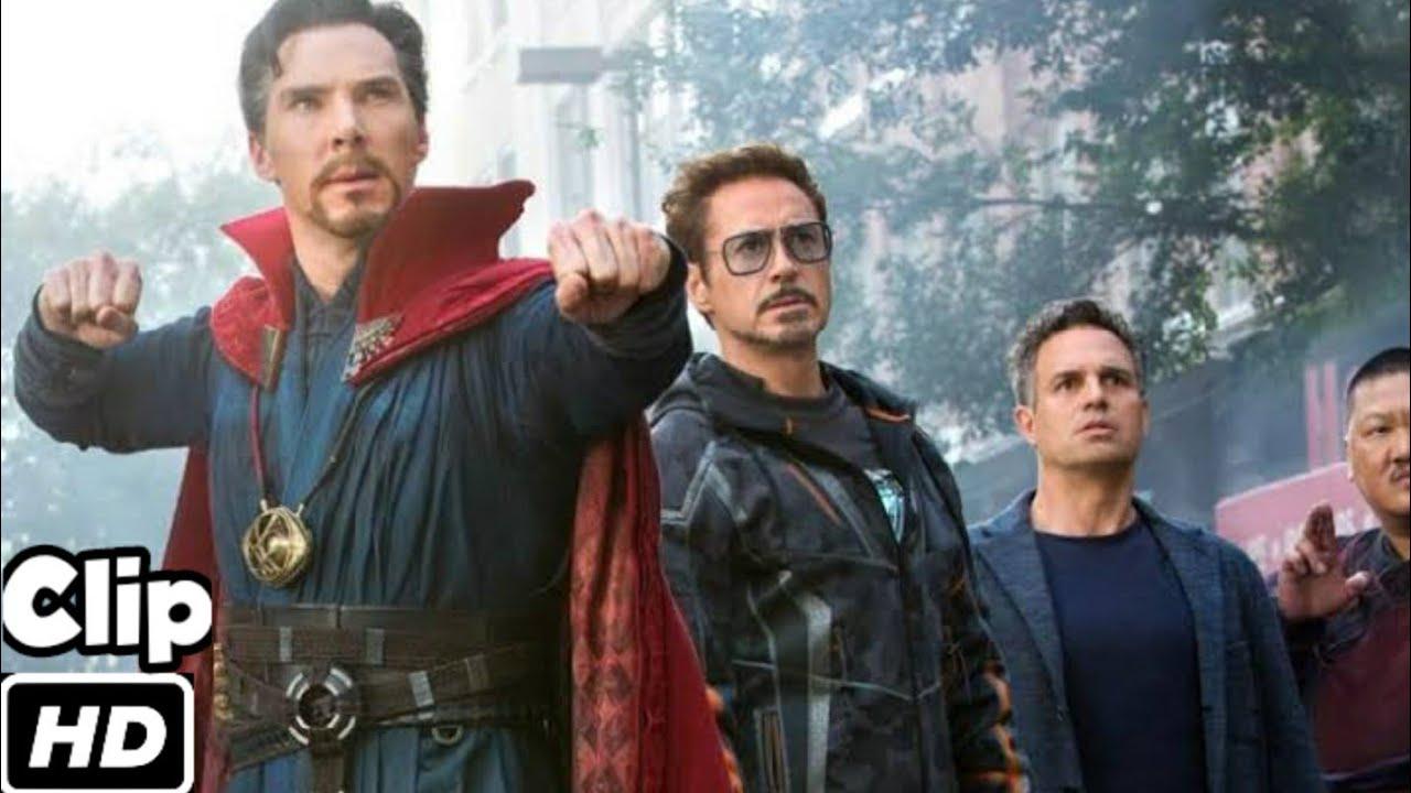 New York Battle Scene (Hindi) | Avengers VS Black Order | Avengers Infinity War | Movie CLIP 4K HD
