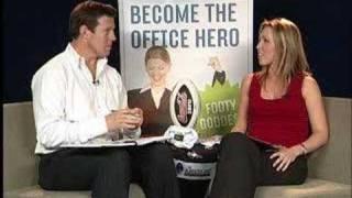Footy Tips TV NRL Round 16 2007 Lana Taylor Jimmy Smith Prev