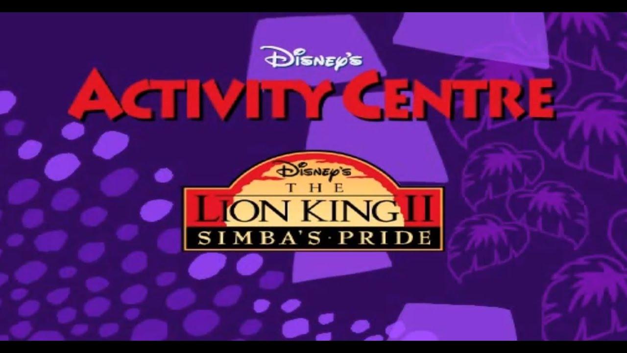 Download Disney's The Lion King 2: Simba's Pride Activity Centre (PC) Full Walkthrough