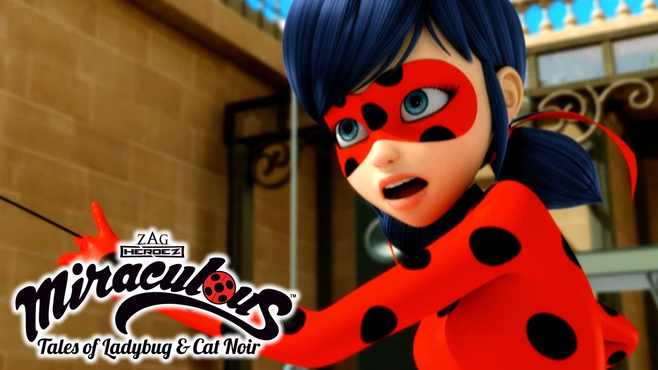 It's just a graphic of Universal Pictures of Ladybug and Cat Noir