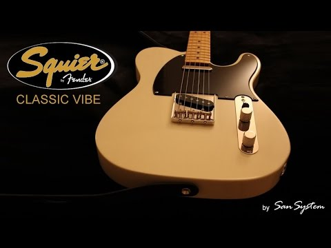 SQUIER Classic Vibe Telecaster 50's ( + Nux Time Force )