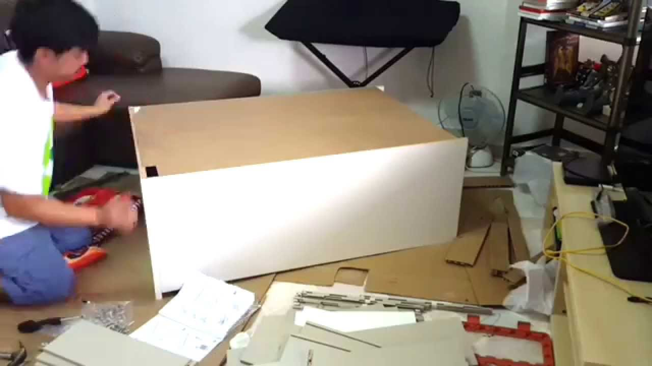 How to assemble a chest of drawers 84