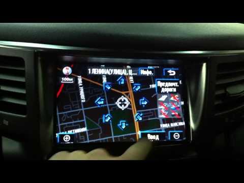 Русификация Lexus LX 570