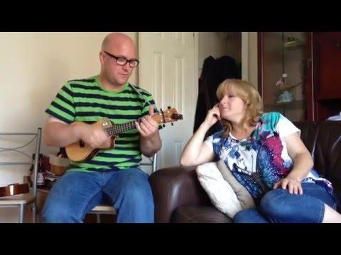 Mrs Robinson Simon And Garfunkel Ukulele Cover Youtube
