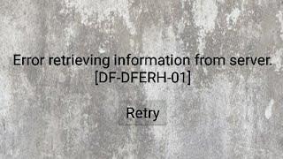 Error (DF-DFERH-01) de la play store |solución |2019| LEER LA DESCRIPCIÓN PARA SOLUCIÓN DEFINITIVA.