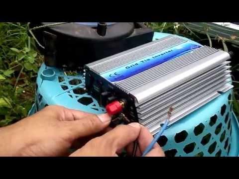 Ecolife - Grid Tie Inverter Tenaga Surya - Cara Menghemat Listrik Rumah