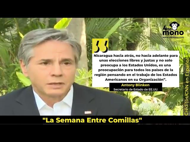 Nicaragua va en dirección contraria a unas elecciones libres y justas