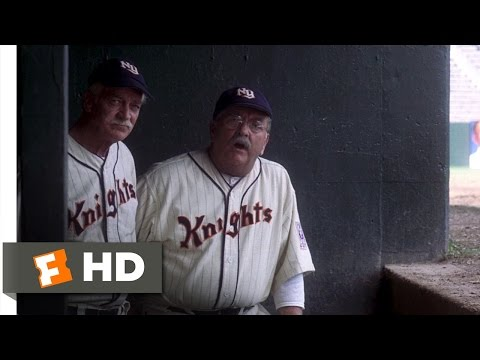 The Natural 28 Movie   A New Right Fielder 1984 HD