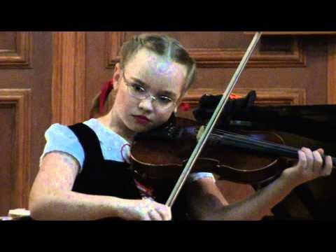 Seitz Concerto No. 3 G minor violin recital