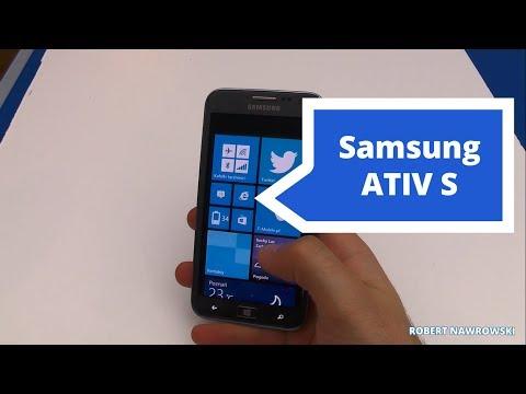 Samsung ATIV S Recenzja - Opinia | Robert Nawrowski